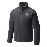 Columbia Full Zip Charcoal Fleece Jacket-Primary Athletics Mark