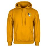 Gold Fleece Hoodie-Primary Athletics Mark