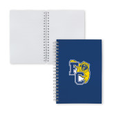 Clear 7 x 10 Spiral Journal Notebook-Primary Athletics Mark