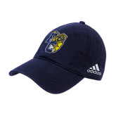 Adidas Navy Slouch Unstructured Low Profile Hat-Primary Athletics Mark