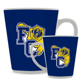 Full Color Latte Mug 12oz-Primary Athletics Mark