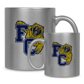 Full Color Silver Metallic Mug 11oz-Primary Athletics Mark