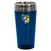 Solano Acrylic Blue Tumbler 16oz-Primary Athletics Mark