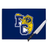 Cutting Board-Primary Athletics Mark, Background PMS 2757 Blue