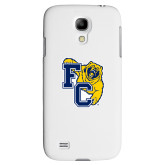 White Samsung Galaxy S4 Cover-Primary Athletics Mark