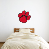 2 ft x 2 ft Fan WallSkinz-Paw Print