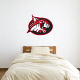 3 ft x 3 ft Fan WallSkinz-Bobcat logo