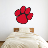 3 ft x 3 ft Fan WallSkinz-Paw Print