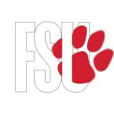 Medium Decal-FSU Primary Logo, 8 inches wide