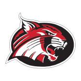 Medium Decal-Bobcat logo, 8 inches wide