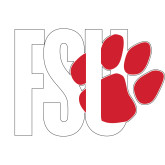 Large Decal-FSU Primary Logo, 12 inches wide