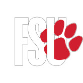 Small Decal-FSU Primary Logo, 6 inches wide