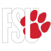 Extra Large Decal-FSU Primary Logo, 18 inches wide