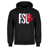 Black Fleece Hoodie-FSU Primary Logo