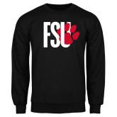 Black Fleece Crew-FSU Primary Logo
