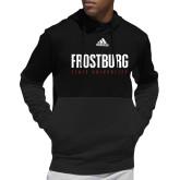 Adidas Black Team Issue Hoodie-Frostburg State University