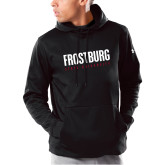 Under Armour Black Armour Fleece Hoodie-Frostburg State University