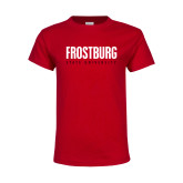 Youth Red T Shirt-Frostburg State University
