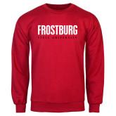 Red Fleece Crew-Frostburg State University