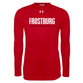 Under Armour Red Long Sleeve Tech Tee-Frostburg State University