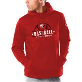 Under Armour Red Armour Fleece Hoodie-Baseball