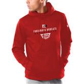 Under Armour Red Armour Fleece Hoodie-Basketball