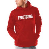 Under Armour Red Armour Fleece Hoodie-Frostburg State University