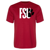 Performance Red Tee-FSU Primary Logo