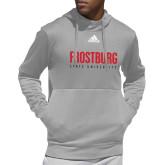Adidas Grey Team Issue Hoodie-Frostburg State University