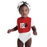 Red Baby Bib-FSU Primary Logo