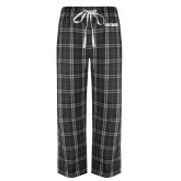 Black/Grey Flannel Pajama Pant-Frostburg State University