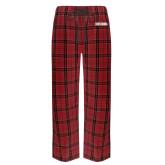 Red/Black Flannel Pajama Pant-Frostburg State University