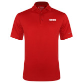 Columbia Red Omni Wick Drive Polo-Frostburg State University