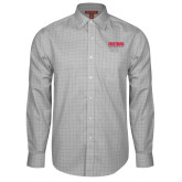 Red House Grey Plaid Long Sleeve Shirt-Frostburg State University