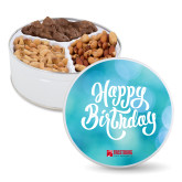 Deluxe Mix Happy Birthday Tin-Frostburg State University Logo