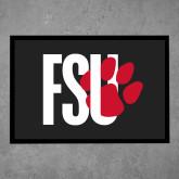Full Color Indoor Floor Mat-FSU Primary Logo