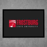 Full Color Indoor Floor Mat-Frostburg State University Logo