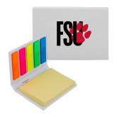 Micro Sticky Book-FSU Primary Logo
