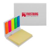 Micro Sticky Book-Frostburg State University Logo