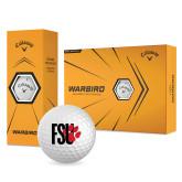 Callaway Warbird Golf Balls 12/pkg-FSU Primary Logo