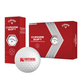 Callaway Chrome Soft Golf Balls 12/pkg-Frostburg State University Logo