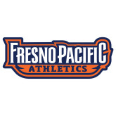 Extra Large Decal-Fresno Pacific Athletics Stacked, 18 inches wide