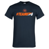 Navy T Shirt-#TEAMFPU