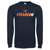 Navy Long Sleeve T Shirt-#TEAMFPU