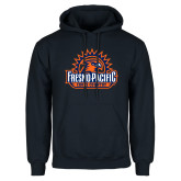Navy Fleece Hoodie-Fresno Pacific Cross Country
