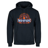 Navy Fleece Hoodie-Fresno Pacific Swimming