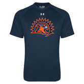 Under Armour Navy Tech Tee-Sunbird Head