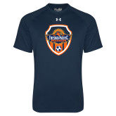 Under Armour Navy Tech Tee-Sunbirds Soccer Shield