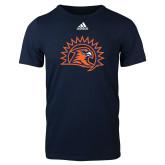Adidas Navy Logo T Shirt-Sunbird Head