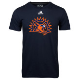 Adidas Climalite Navy Ultimate Performance Tee-Sunbird Head